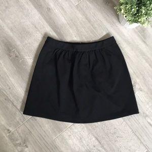 J. CREW black mini skirt, Size 2